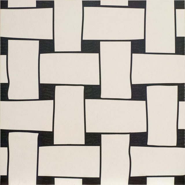 Tangle Across Patterned Porcelain Tile