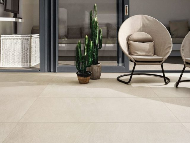 Brave Colorbody Porcelain Tile Floor Installation