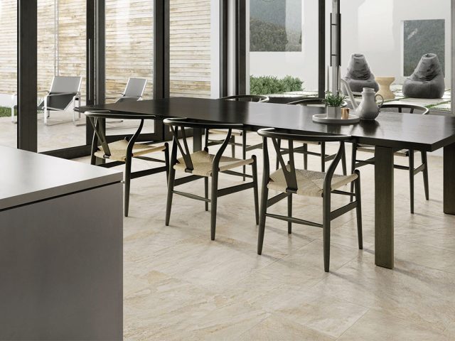 Globe Porcelain Tile Collection in Barge Gold