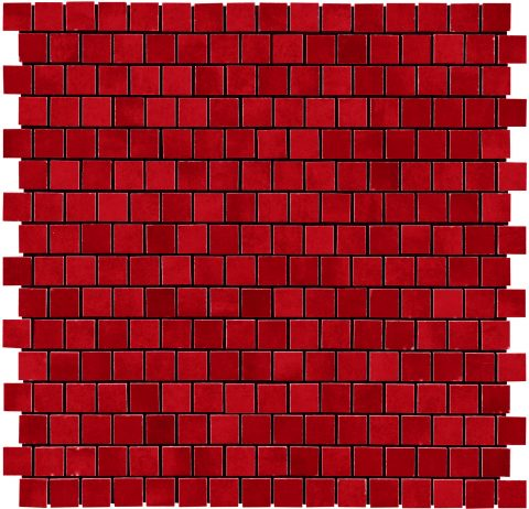 Lively Mosaic Red