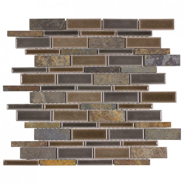 Tempo Natural Mountain Glass Wall Tile