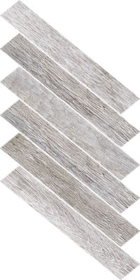 Fearless White Herringbone 1
