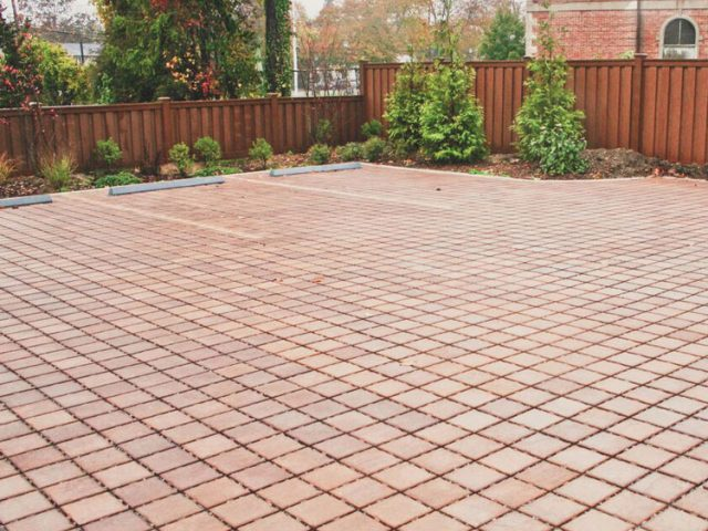 Concrete Permeable Pavers