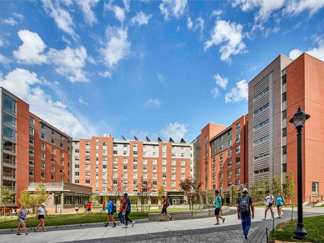 UCONN STEM Residence Hall (Peter J. Werth)