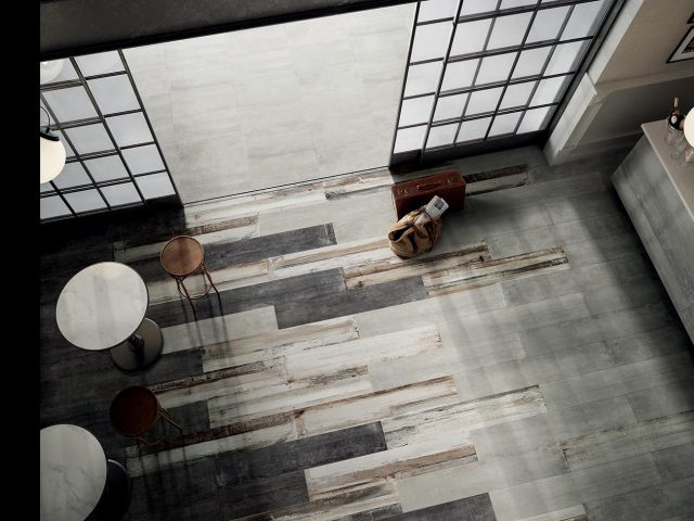 Blocks 5.0 Installation Wood Porcelain Tile