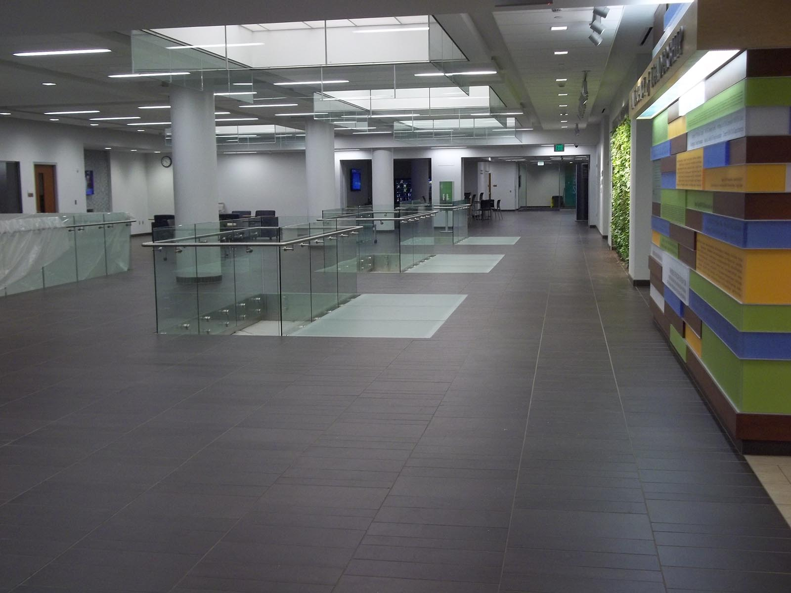 Canisius College Science Hall Case Study - Mosa Tile Installation