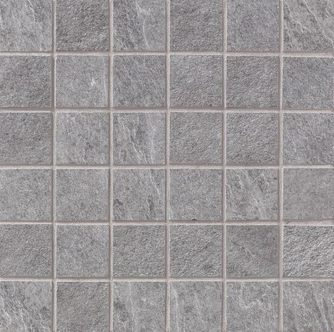 Cascade Light Grey 2x2 Mosaic
