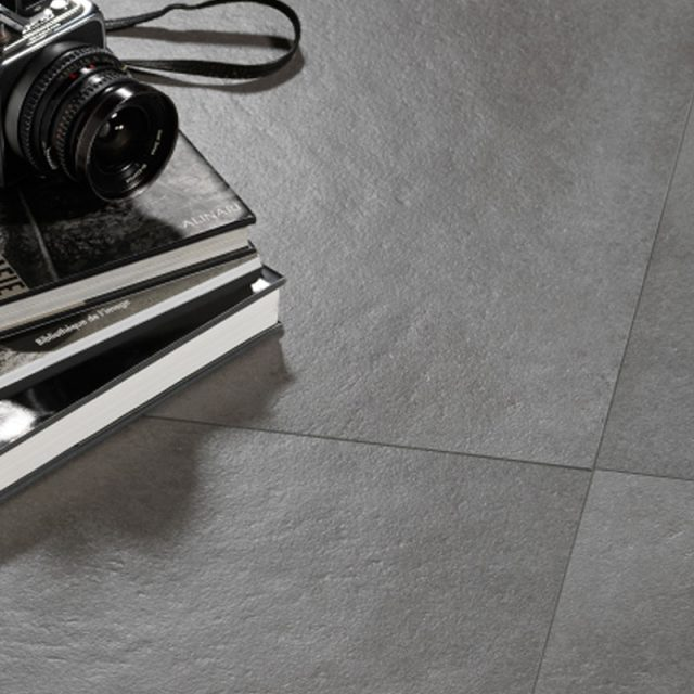 Catania Collection Porcelain Tile Floor Installation