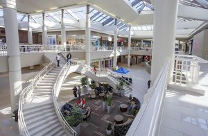 Galleria at Crystal Run Case Study - Tile for Retail center floors, walls and common areas