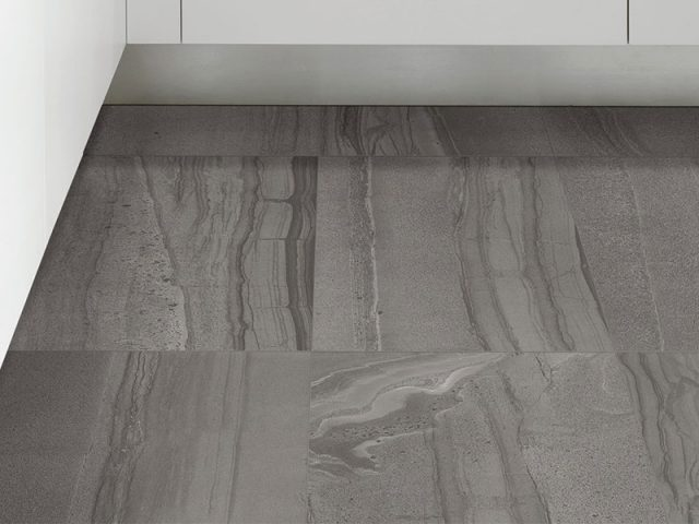 Formation Porcelain Tile Collection in Carbon
