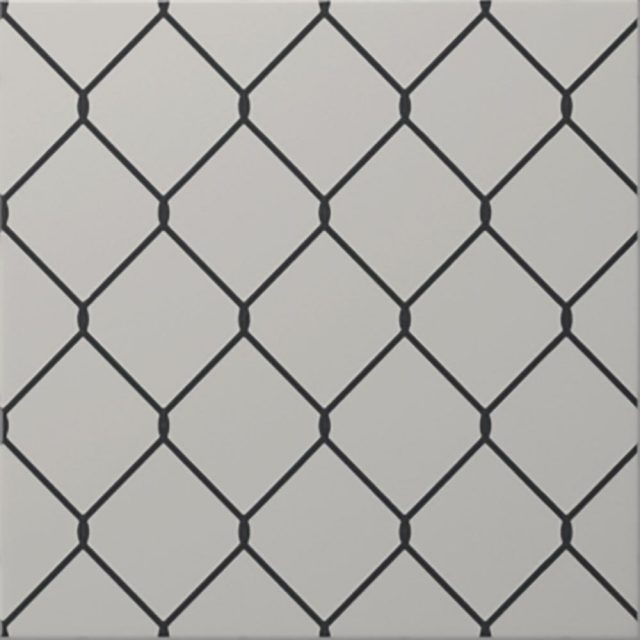 Galvanized Black and White Metal-Look Ceramic Tiles