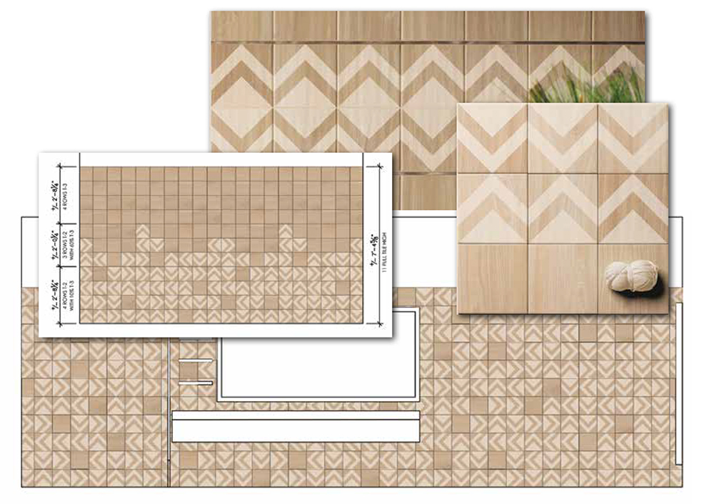 Tile Pattern Layout Designs