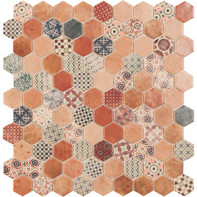 Hive Patch Beige Decor Mix