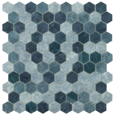 Hive Patch Blue