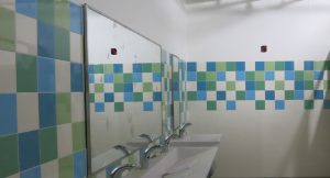 Sandy Hook Elementary School Case Study - Mosa Bathroom Installation