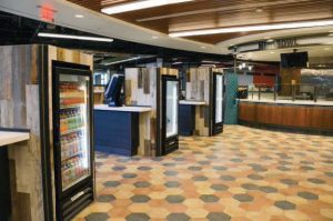 Ramapo College Dining Hall Floor Tile Case Study
