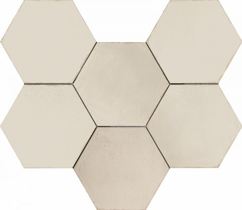 Resort Ivory Hex Decor