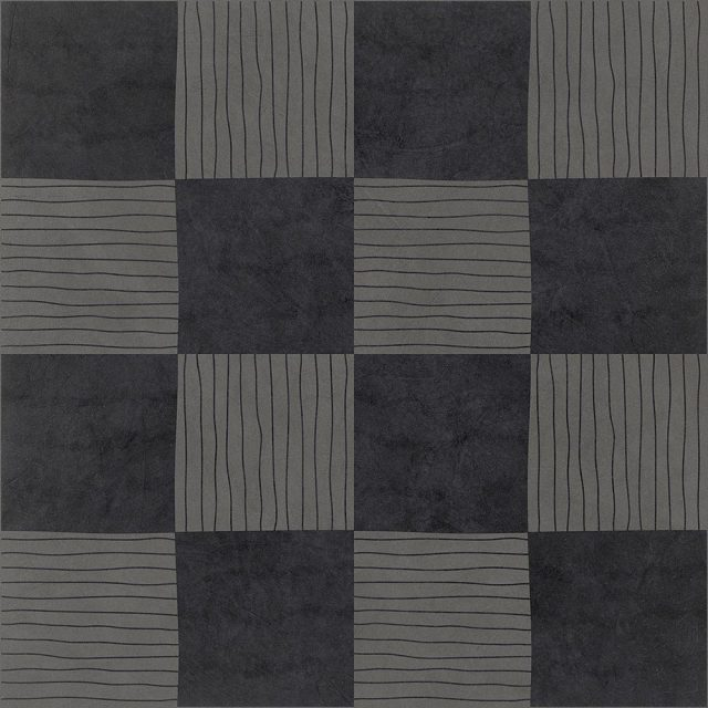 Tangle Dama Grey Patterned Porcelain Tile