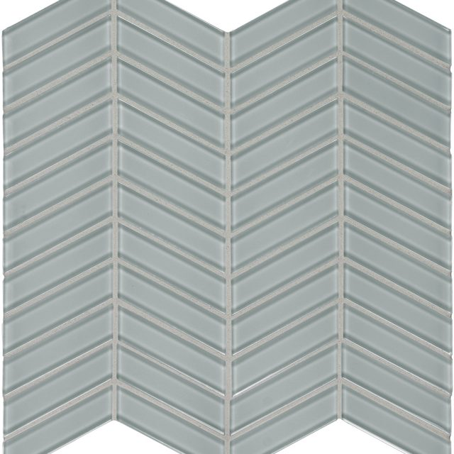 Admired Cool Grey Chevron